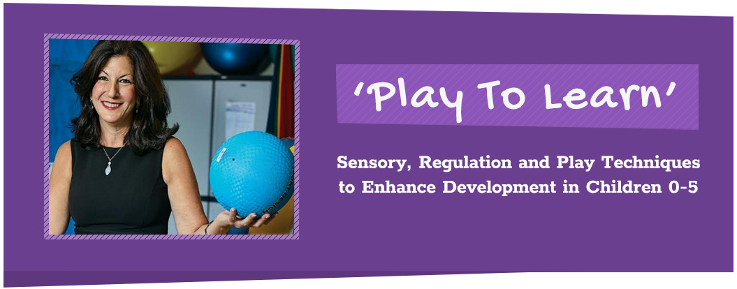 Play To Learn - Sensory, Regulation and Play Techniques to Enhance Development in Children ages 0-5